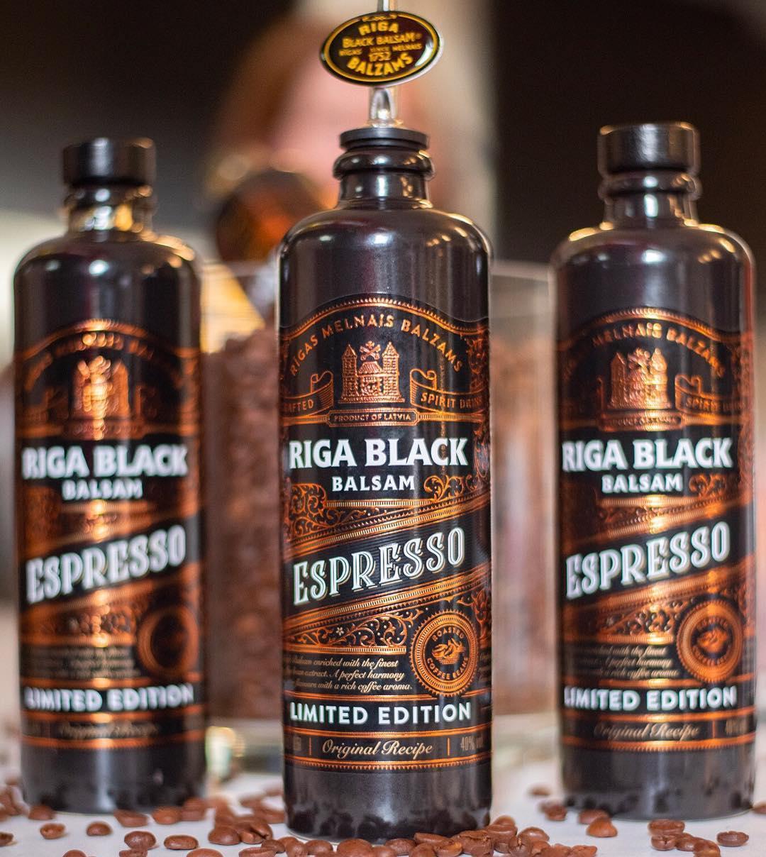 Це просто «Ризький чорний бальзам» із кавою