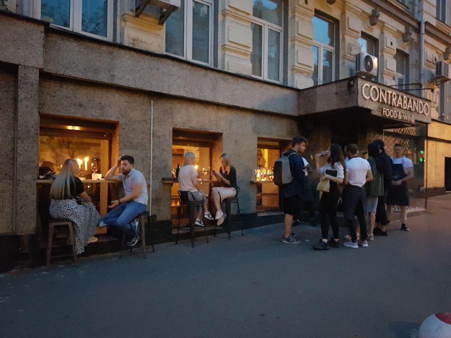 Ресторан і магазин вина Contrabando Food & Wine відкрили на Антоновича
