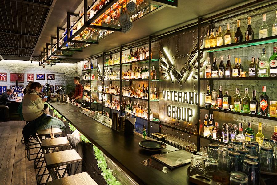 Новий бар. Veterano Bar від Pizza Veterano біля Майдану