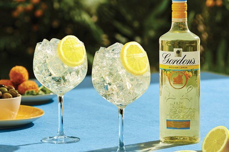 Gordon's випустили ароматизований джин зі смаком «Сицилійський лимон»