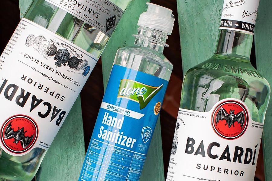 Мільйон літрів спирту на виробництво антисептиків пожертвує Bacardi