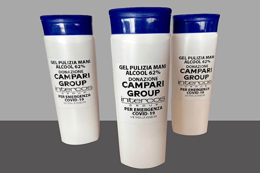Campari виготовляє антисептики для лікарів разом із виробником косметики
