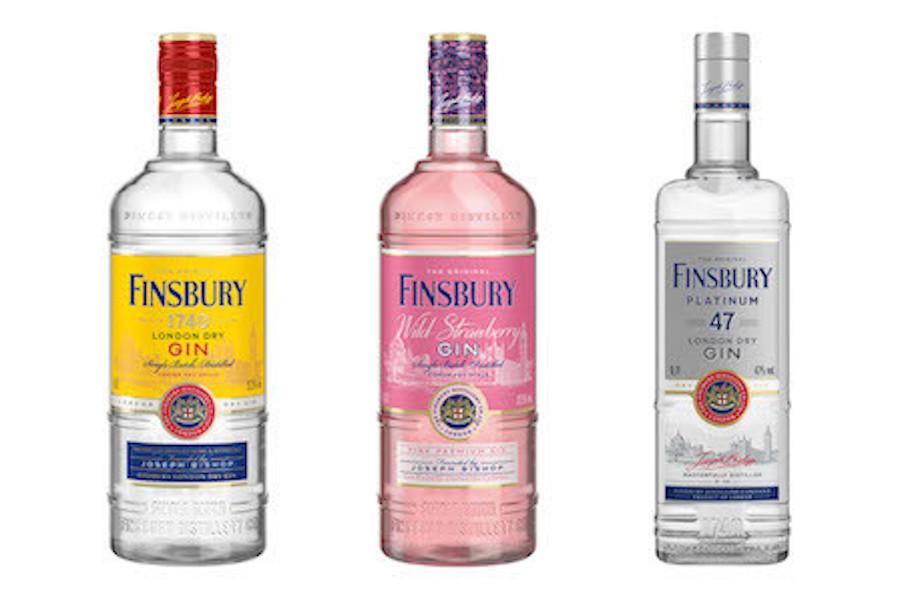 Джин Finsbury провів редизайн: нова пляшка, новий смак