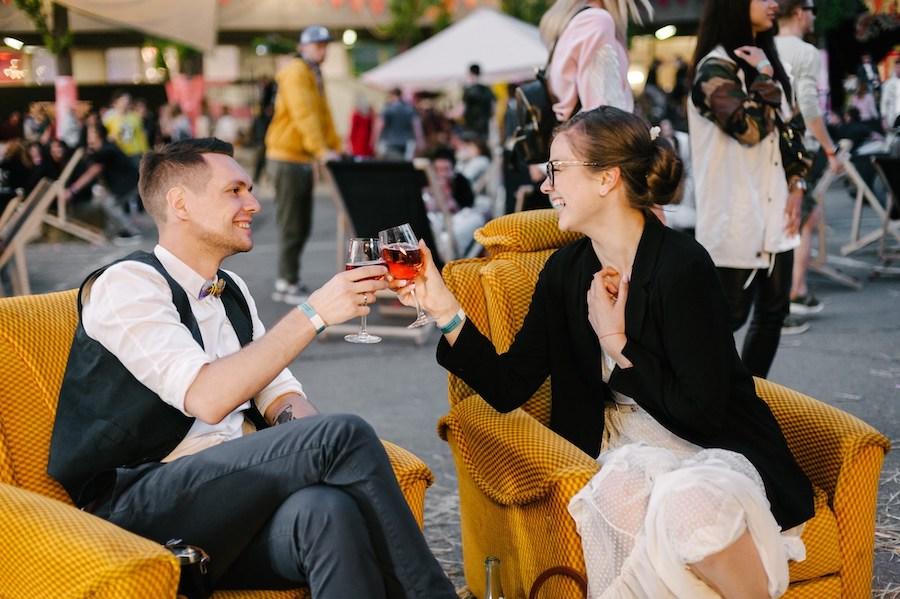 Барахолка «Кураж» відкриває бар із натуральним вином. Він називається «Синичка»