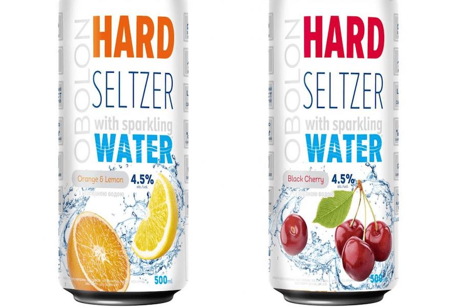 Перший український hard seltzer: «Оболонь» почали продавати слабоалкольні мінеральні напої