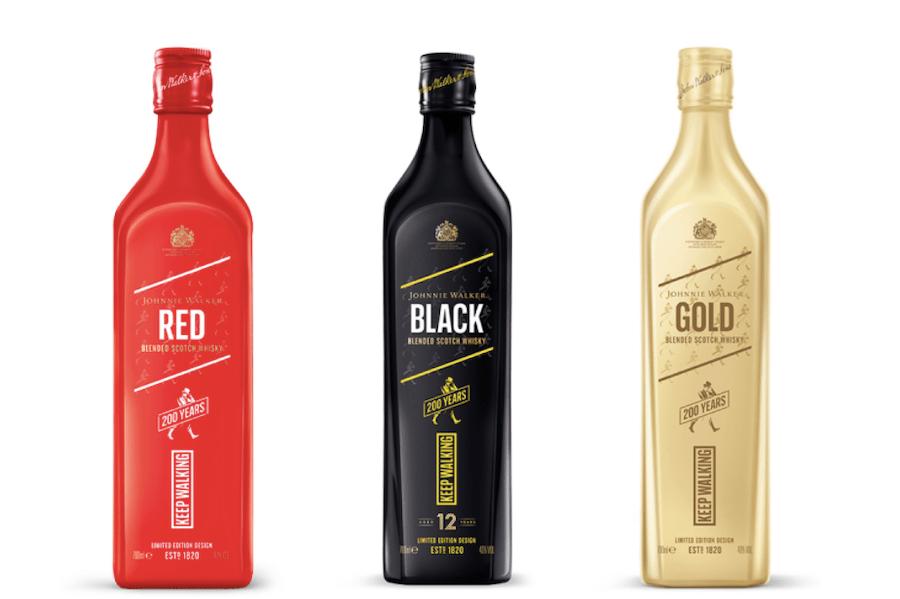 Оновлені Red, Black і Gold Label: це новий дизайн Johnnie Walker