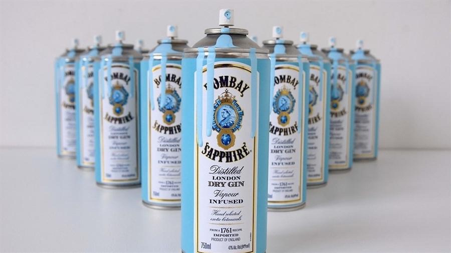Навіщо Bombay Sapphire випускають балончики з фарбою для графіті