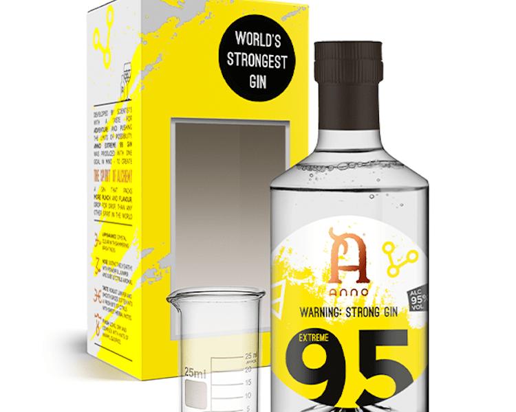 «Найміцніший у світі джин»: джин з 95% міцності випустили в Британії