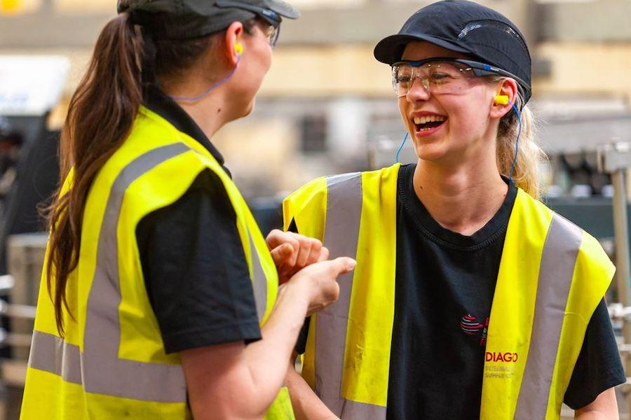 Diageo звітують про скорочення гендерного розриву в оплаті праці