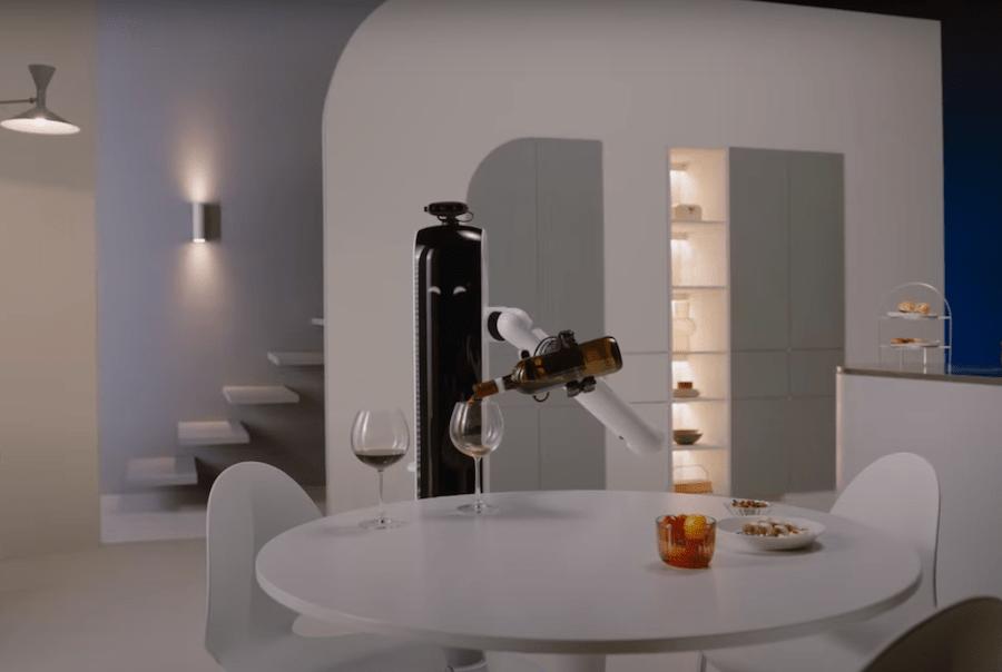 Samsung розробили робота, який може наливати вино
