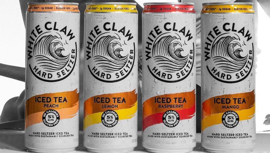 Слабоалкогольний напій на основі чаю випустив White Claw
