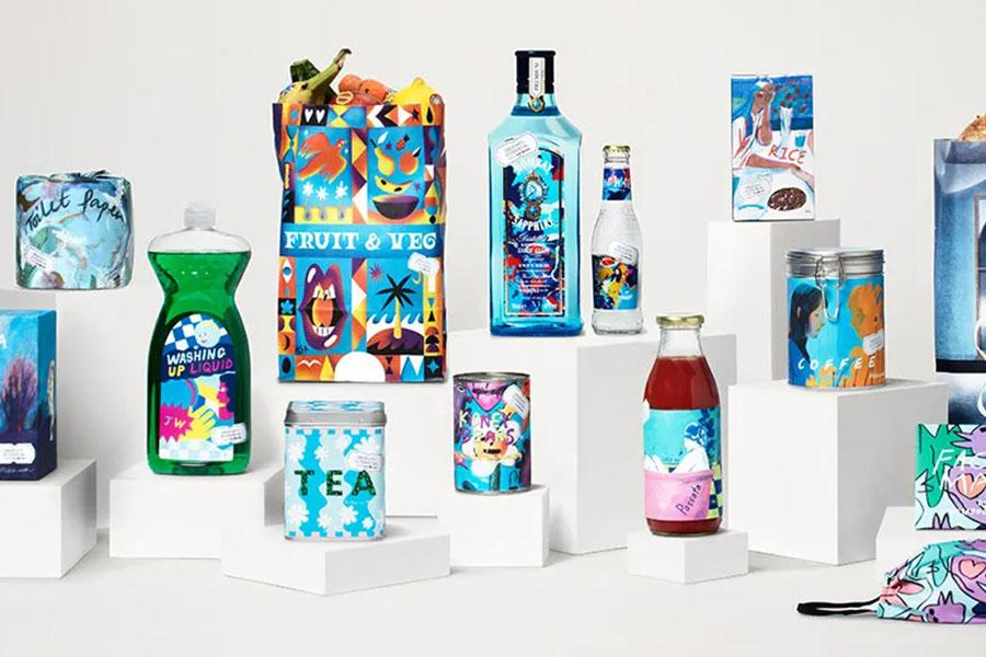 Bombay Sapphire створив онлайн-супермаркет у Музеї дизайну Лондона. Щоб підтримати митців