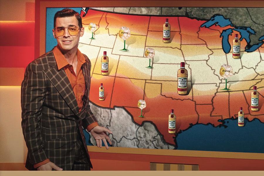 Дивіться рекламу апельсинового джину Tanqueray зі співаком Джо Джонасом